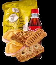 Jausenprodukte und Snacks